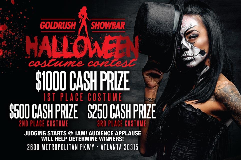 Goldrush Halloween Costume Contest